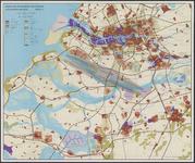 TA_ALG_018 Ruimtelijke ontwikkeling van Rijnmond in de noordelijke delta, model C, omstreeks 1970-1975.