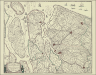 TA_ALG_039 Novissima Delflandiae, Schielandiae et circumiacentium onsularum ut Voornae, Overflackeae, ...