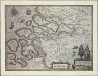 TA_ALG_041 Kaart heeft geen titel, wel vermeld een gezicht op Middelburg, 1631.