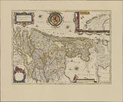 TA_ALG_049 Hollandia Comitatus, facsimile omstreeks 1990, orginele uitgave 1629 Theatrum Orbis Terrarum .