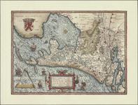 TA_ALG_095 Hollandiae Antiquorum Catthorum Sedis nova Descriptio Auctore Iacobo A Daventria , 1591.