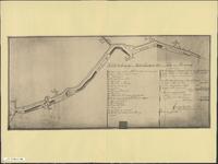 TA_ALG_112_004 Schetstekening der Lodderlandsche dijk van de Tinte tot de Heevering, 1801.