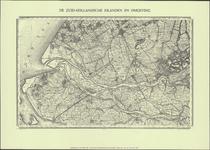 TA_ALG_155 De Zuid-Hollandse Eilanden en Omgeving, facsimile 1977 (origineel Top. Bureau 1857).