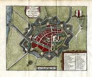 TA_BRIELLE_043 Nieuwe Grond_tekening der Stad BRIELLE, 1743.