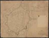 TA_BRIELLE_095 VESTING BRIELLE, Aansluiting weg Rotterdam - Brielle aan weg Brielle - Rockanje, [ca. 1928].