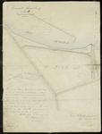TA_BRIELLE_105 Extract van de kadastrale kaart Rozenburg sectie B. Behorende bij het veerrecht (regt van overvaart) van ...