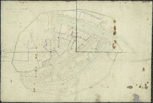 TA_BRIELLE_156 Gemeente Brielle, sectie B, 1851 / 1855.