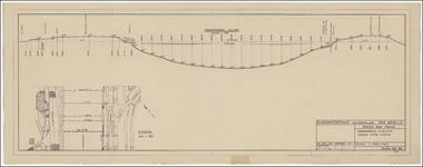 TA_DKR-RWS-HLVS_006 Dwarsprofiel in km 2.170 Kanaal door Voorne, 1959.