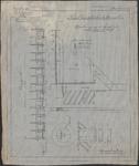 TA_DKR-RWS-HLVS_015 Herstelling schutsluis te Nieuwesluis, Grondkeering aan de kanaalzijde van het binnensluishoofd, 1909.