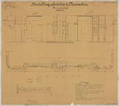 TA_DKR-RWS-HLVS_023 Herstelling schutsluis te Nieuwesluis, Binnensluishoofd, 1909.