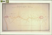 TA_HLVS_047 Situatie-kaart en Plan tot een Nieuwe Straatweg tussen Brielle en Hellevoetsluis,