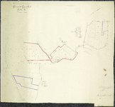TA_KAD_GEE_001 Uittreksel uit het kadastrale plan Gemeente Geervliet, Sectie E, 1900.
