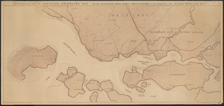 TA_REC_002 Topografische toestand omstreeks 1300 - van de voornaamste steden, dorpen, dyken en rivieren in de omgeving ...