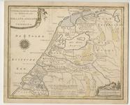 TA_REC_029 Geographische Tafel der Midden-Eeuwe van Holland, Zeeland en Vriesland, 1792.
