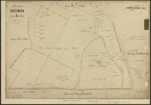 REC_035-004 Kadastrale minuutplan Hekelingen B2, 1893.