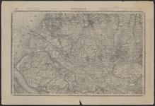 TA_REC_036 Topografische kaart waarin de ligging van voormalige wateren (kreken) op Voorne en Putten zijn ingetekend