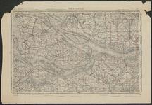 TA_REC_045 Topografische kaart waarin de ligging van voormalige wateren (kreken) op het zuidelijke deel van Voorne ...