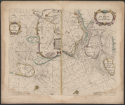 TA_RIV_023 Caarte van De Mase ende het Goereesche gat, 1662.