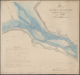 TA_RIV_031 Kaart van de Rivier het Haringvliet, 1836.