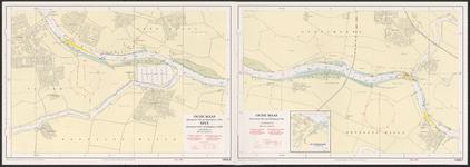 riv_043-008 Hydrografische kaart voor Kust-en Binnenwateren, 1985.