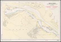 riv_043-012 Hydrografische kaart voor Kust-en Binnenwateren, 1985.