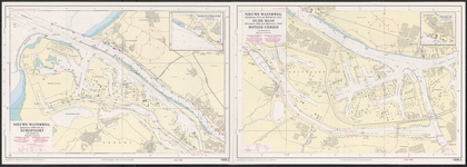 riv_044-004 Hydrografische kaart voor Kust-en Binnenwateren, 1986.
