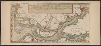 TA_RIV_068 Kaart van de Beneeden Rivier de Maas en de Merwede,van de Noordzee tot Gorinchem, [ca. 1745].