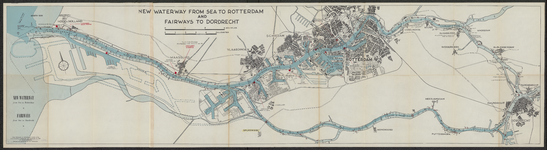 TA_RIV_073 New Waterway from sea to Rotterdam and fairways to Dordrecht, 1961.