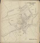 TA_SPIJK_003 Plattegrond van de gemeente Spijkenisse met kadastrale percelen en sectie nummers