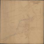 TA_SPIJK_004 Plattegrond van de gemeente Spijkenisse met kadastrale percelen en sectie nummers
