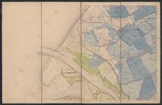 TA_WAT_010 Waterstaatskaart (polderkaart) rond de monding van de Brielse Maas en Nieuwe Waterweg