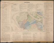 TA_WAT_017 Waterstaatskaart (polderkaart) van een gedeelte van Voorne - Putten, Rozenburg en Welplaat. De kaart is ...