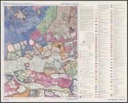 TA_WAT_020 Waterstaatskaart (polderkaart) vijfde editie van een gedeelte van Putten en het industriegebied Botlek. De ...
