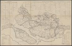 TA_WAT_023 Waterstaatkundige kaart van het zuidwestelijke deel van Zuid-Holland waarop waterstaatkundige gegevens zijn ...