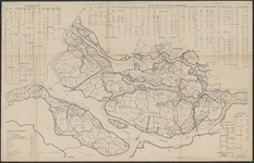 TA_WAT_023 Provincie Zuid-Holland Z.W., Afwatering, sluizen en gemalen situatie 1956 - 1957, 1956.