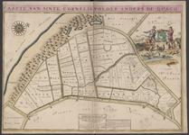 TA_KAARTBOEK_013 CAARTE VAN SINTE CORNELISPOLDER ANDER DE QUACQ, 1697.