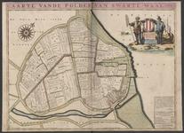 TA_KAARTBOEK_016 CAARTE VANDE POLDER VAN SWARTE-WAAL 1697, 1697.