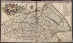 TA_KAARTBOEK_017 CAARTE ENDE AFBEELDINGE DER STEDE EN VRYE HEERLYKHEYT VAN HEENVLIET, 1698.