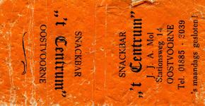 LD1010. Snackbar 't Centrum.