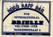 LD2003. Bar internationaal Nord Kapp Bar.