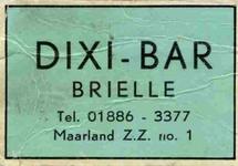 LD2006. Dixi Bar Brielle.