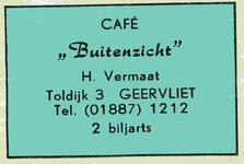 LD2014. Café Buitenzicht - 2 biljarts.