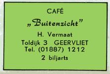 LD2015. Café Buitenzicht - 2 biljarts.