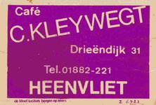 LD2016. Café C. Kleywegt.