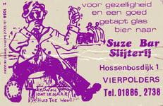 LD2030. Voor een gezellig en goed getapt glas bier naar Suze Bar Slijterij.
