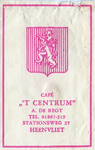 SZ0304. Café 't Centrum.