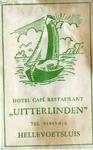 SZ0517. Hotel, Café, Restaurant Uitterlinden.
