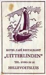 SZ0519. Hotel, Café, Restaurant Uitterlinden.