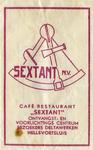 SZ0521. Café, restaurant Sextant - ontvangst- en voorlichtingscentrum bezoekers Deltawerken.