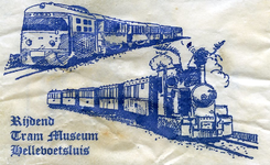 SZ0545. Rijdend Tram Museum Hellevoetsluis.